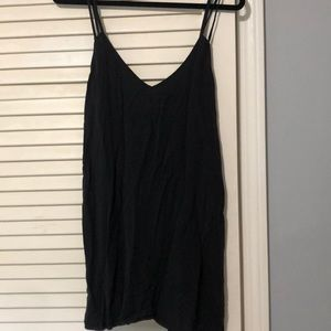Black brandy Melville dress